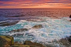 Nova Scotia has one of the most beautiful coast lines I have ever seen. Nova Scotia, Beach Photos, East Coast, Beautiful Scenery, Beautiful Places, Landscape Photography, Places To Visit, High Tide, Ocean Views