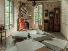 Sectional polyurethane sofa LES MARCHES by smarin design Stéphanie Marin, Céleste Boursier-Mougenot