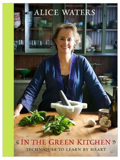 Fresh and local slow food movement, gotta give some respect to Alice Waters!