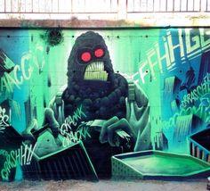 Bombing Science: Graffiti Blog - Harry Bones
