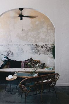 greige: interior design ideas and inspiration for the transitional home : Boho outdoor space...