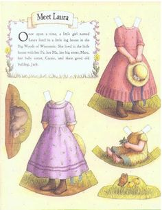 these are the clothes for the paper dolls found on the picasa page