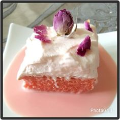 Rose Tres Lèche / Milk Cake recipe by posted on 07 May 2017 . Recipe has a rating of by 3 members and the recipe belongs in the Cakes recipes category Ramadan Desserts, Indian Desserts, Rose Syrup Recipe, Rose Recipe, Baking Recipes, Dessert Recipes, Rose Dessert Recipe, Birthday Cakes For Teens, Teen Birthday