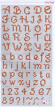 Most current Absolutely Free Cross Stitch punto de cruz Ideas Schöne Monogramme ! In Aktion ! Cross Stitch Letter Patterns, Cross Stitch Letters, Cross Stitch Borders, Cross Stitch Baby, Cross Stitch Charts, Cross Stitch Designs, Cross Stitching, Cross Stitch Embroidery, Embroidery Patterns