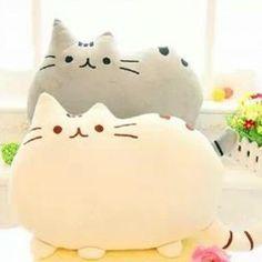 Pusheen Cat Pillow! Kawaii!!! :3