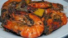 Resep Udang Lada Hitam, Masakan Seafood
