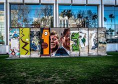 Berlin Wall Sections, Los Angeles, near LACMA