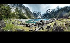 lake marian, fiordland