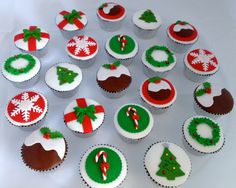 Christmas Cupcakes for Meals on Wheels