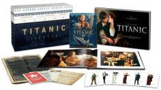 Titanic 4 Disc 3D Blu Ray DVD Collector's Edition Amazon Exclusive U s A RARE 097361468242   eBay