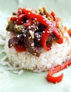#StirFryRecipe Stir Fry Ginger Beef Recipe