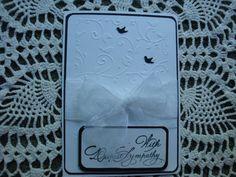 Sympathy Card Thinking of you Condolences by CardsbyEileen on Etsy
