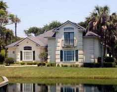 Check out Plan a sq. Florida house plan with 3 bedrooms, 2 bathrooms, a gathering room, an extra nook, and a split bedroom layout. Florida Style, Florida Home, Florida House Plans, House Plans 3 Bedroom, Monster House Plans, Mediterranean Homes, Bedroom Layouts, Interior And Exterior, Architecture Design
