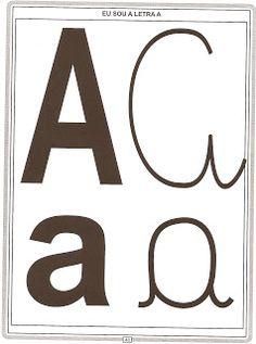Alfabeto com os 04 tipos de letras! - ESPAÇO EDUCAR
