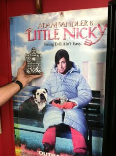 Another great product (Little Nicky flask) by Aram for the movie studios Little Nicky, Random Stuff, Cool Stuff, Flask, Vintage Items, Studios, Baseball Cards, Antiques, Tattoos