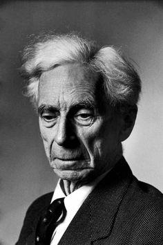 Bertrand Russell fotografato da Alfred Eisenstaedt