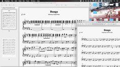 Bikin transkrip piano sama bass.  Serasa musisi heheh... :)