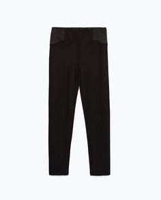 BODY FIT LEGGINGS-Trousers-WOMAN   ZARA United States
