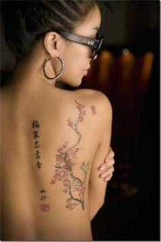 Sakura Tattoo - Chinese tattoo