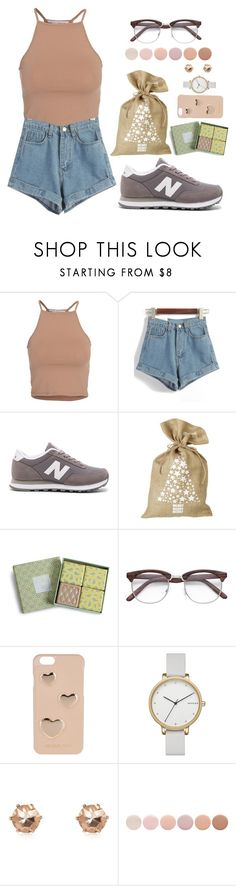 """""""DK X Wrapping Christmas Presents"""" by jleeoutfitters ❤ liked on Polyvore featuring NLY Trend, WithChic, New Balance, Parlane, Vera Bradley, MICHAEL Michael Kors, Skagen, River Island and Deborah Lippmann"""