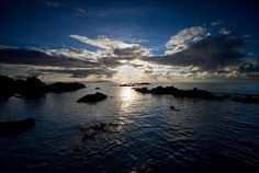 'Sunset over Holyhead Mountain' - Church Bay, Anglesey  by Kristofer Williams