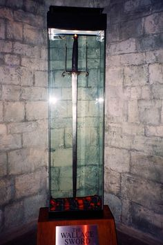 "William Wallace's Sword  The most famous sword in Scottish History.  It measures 66"" in length."