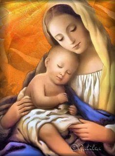 BLOG CATÓLICO VIRGEN MARÍA : ORACIÓN A SANTA MARÍA EN EL AÑO NUEVO