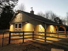 Custom Barn Designs | Custom Horse Barn Plans | Horizon Structures