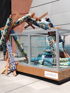 Fab carpet display