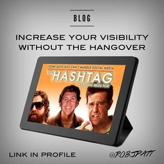 Have you heard a lot about hashtags but really don't know what the fuss is about? Then read my marketing blog on the benefits of hashtags. The title is my pop culture spoof on the comedy The Hangover! You can now increase your visibility without the hangover! Link to this blog is from the link in my profile under the CONTENT pull down menu!   #MarketingBlog #Spoof #Blogging #Inbound #SocialMediaStrategist #SocialMediaMarketing #ContentMarketing #ContentStrategist #Advertising #ContentCreator… Inbound Marketing, Content Marketing, Social Media Marketing, Digital Marketing, Social Media Strategist, Competitor Analysis, Instagram Accounts, Hashtags, Pop Culture