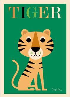 Tiger affisch
