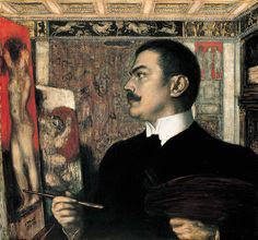 Franz von Stuck, Autoritratto, 1905