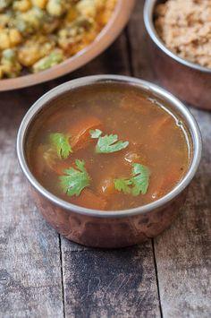 Instant Tomato Rasam Recipe - Easy South Indian Tomato Rasam