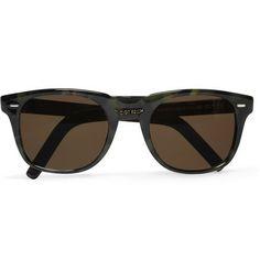 Cutler and Gross D-Frame Tortoiseshell Acetate Sunglasses Men Eyeglasses,  Mr Porter, Tortoise 1e7a8c8b86dd