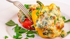 The Top 10 Recipes Of August 2020 | Rachael Ray Show Sausage And Peppers, Stuffed Peppers, Top Recipes, Cooking Recipes, Healthy Cooking, Vegetable Recipes, Healthy Meals, Beef Recipes, Italian Recipes