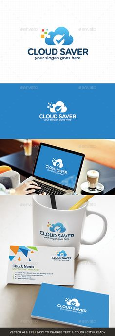 Cloud Saver - Logo Design Template Download: http://graphicriver.net/item/cloud-saver/11063741?s_rank=559?ref=nexion