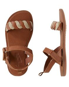 e38d313f7ed OshKosh Braided Sandals