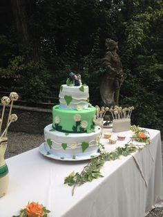 """Wedding Cake """"Sposini fra le margherite"""""""