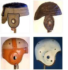 Evolution of Football Helmet