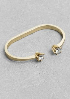 Rhinestone Double Ring | Rhinestone Double Ring | & Other Stories