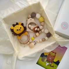 Safari jungle baby shower gift, lion baby shower toy gift for pregnant friend, coworker baby gift for wild baby shower Lion Baby Shower, Baby Shower Gifts, Baby Gift Box, Baby Gifts, Gifts For Pregnant Friend, Safari, Baby Easter Basket, Pram Toys, Gifts For New Parents