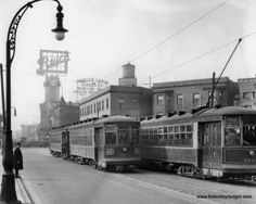 Milwaukee Avenue & Logan Boulevard, 1928
