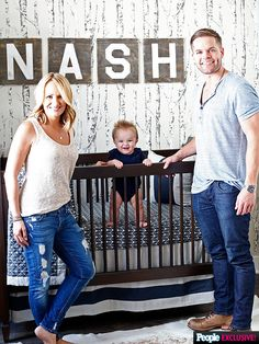 Inside Wes Chatham and Jenn Brown's Rustic Nursery: We Wanted to Honor Our Southern Roots - Modern Baby Boy Nursery Themes, Baby Boy Rooms, Baby Boy Nurseries, Nursery Ideas, Kid Rooms, Brown Nursery, Baby Nursery Neutral, Chic Nursery, Farmhouse Nursery Decor