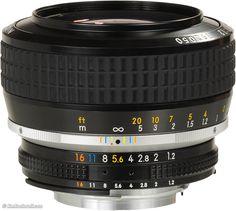 Nikon 58mm f/1.2 Noct-NIKKOR