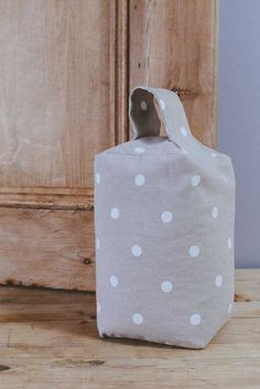 Dotty Taupe  Door stop