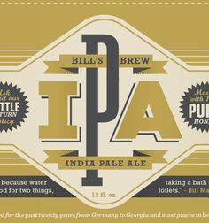 Beautiful Beer Label design