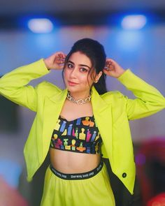 Image may contain: one or more people, people standing and indoor Aditi Bhatia, Indian Tv Actress, Child Actresses, Indian Teen, Girls Dpz, Chandigarh, Girl Hairstyles, Celebrities, Cute