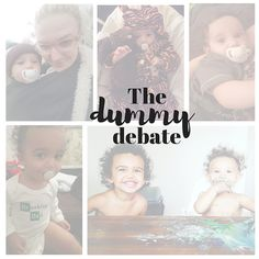 The dummy debate | Raw Childhood - Early Years Blogger. We looked at the positives and negatives to using a dummy for a baby.