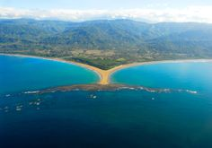 The Marino Ballena National Park on  the Southern Pacific Coast of Costa Rica is an amazing place that we love.