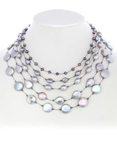 3a8522dce Margo Morrison New York | Home Long Necklaces, Morrisons, Bead Jewelry,  Jewelry Necklaces